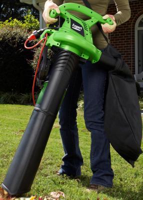 Expert Gardener electric blower vacuum attachment and bag