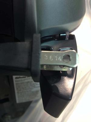 Date code location on plug