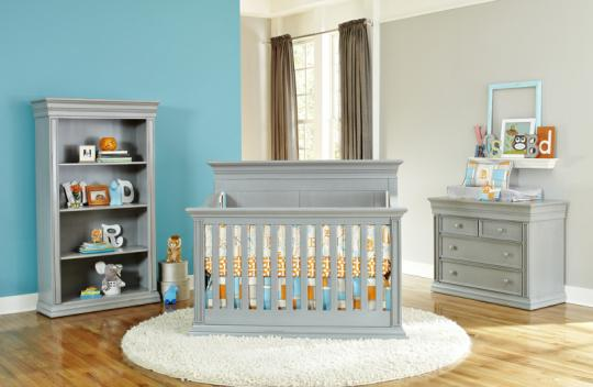 Baby's Dream Legendary Cribs and Furniture in Vintage Grey