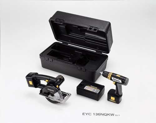 EYC136NQK 15.6V Cordless Metal Cutter Combo Kit