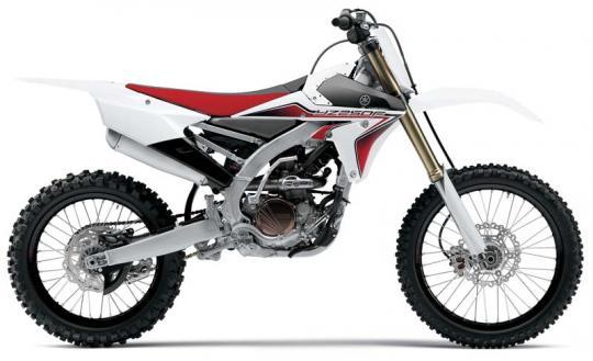 Yamaha 2015 model YZ250FFW