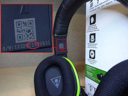 Recalled units have a 13-character alphanumeric serial number that includes C16 through C25 and do not have a green dot under the windscreen of the microphone.