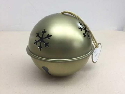 Cheryl & Co Jingle Bell ornament sold by QVC