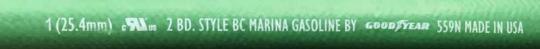 1-inch Marina Hose