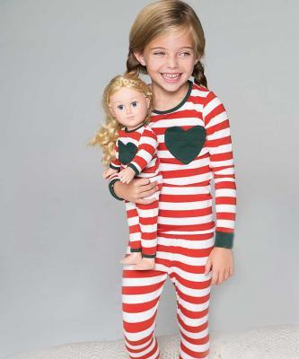 Christmas red and white pajamas