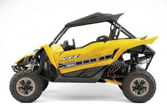 YXZ1000SE Yellow and White