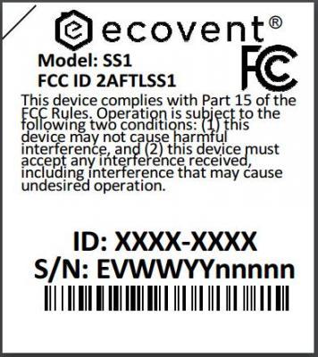 Label on Back of Room Sensors
