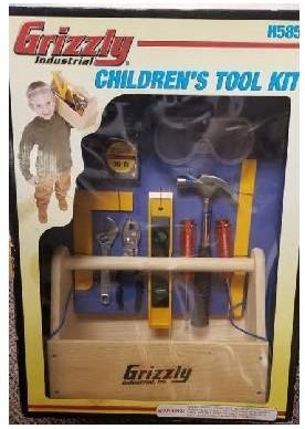 Recalled Grizzly Children's Tool Kit (Model# H5855)