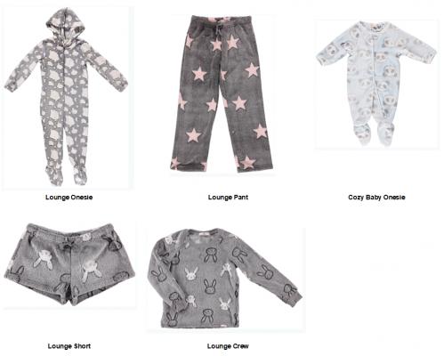 Recalled Ragdoll & Rockets children's loungewear