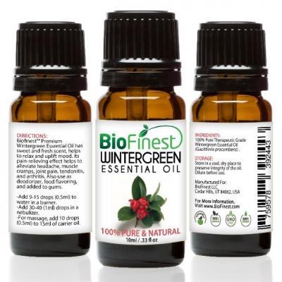 Recalled BioFinest Wintergreen Essential Oil (10 mL)