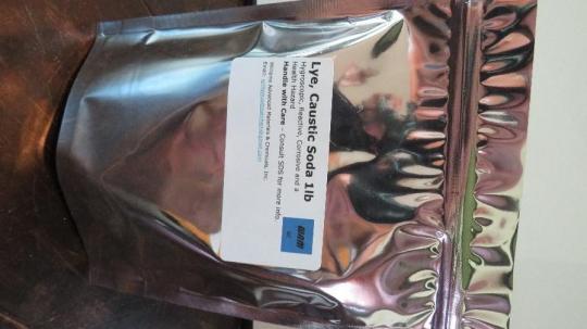 Recalled Williams Advanced Materials & Chemicals – Sodium Hydroxide (Lye, Caustic Soda) bag
