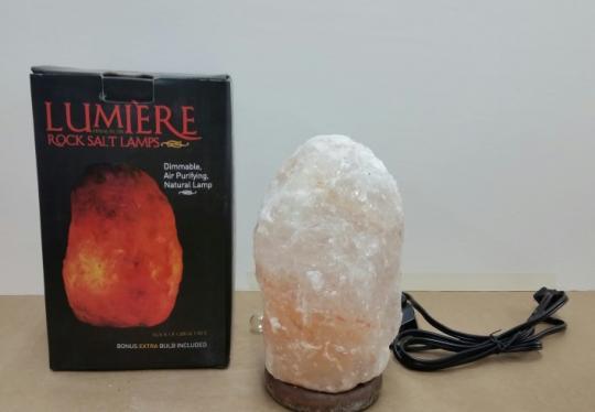 Rock of Gibraltar Lumiere Rock Salt Lamp