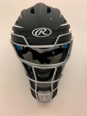 Recalled CHMACH-SR Senior Catchers helmet (front view)