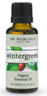 Recalled bottle of wintergreen oil