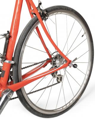 Recalled Ballz QR Skewer installed on bicycle