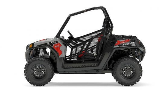 2017 RZR 570 EPS - Silver