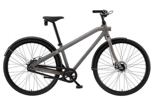 VanMoof S-series city bicycles 8 speed step through frame without integrated lock