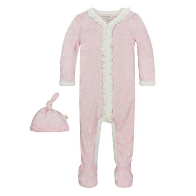 Recalled Infant butterfly garden coverall in blossom pink