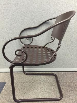 Brazos Chair with Embossed Star