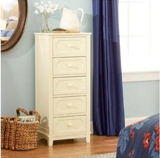 "Linon Home Décor ""Cynthia"" 5-drawer dressers"
