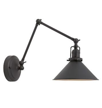 Recalled Rejuvenation Imbrie articulated wall sconce