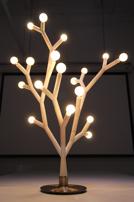 Assembled Splyt modular light fixture