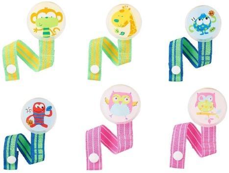 Babies 'R' Us Pacifier Clip Assortment