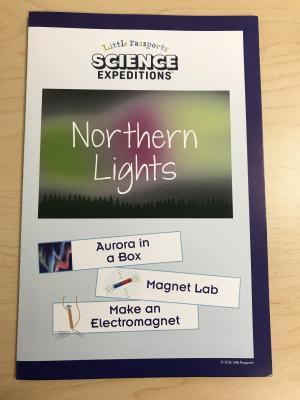 Instruction packet included in the Science Expeditions Northern Lights kits