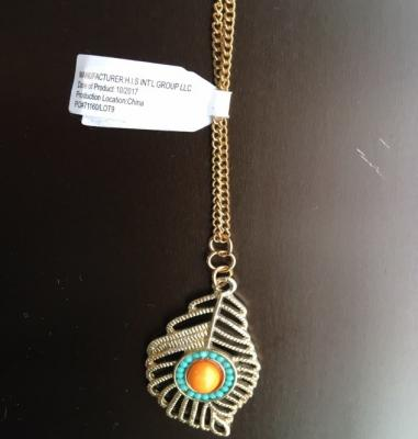 Necklace sold with recalled clothing set