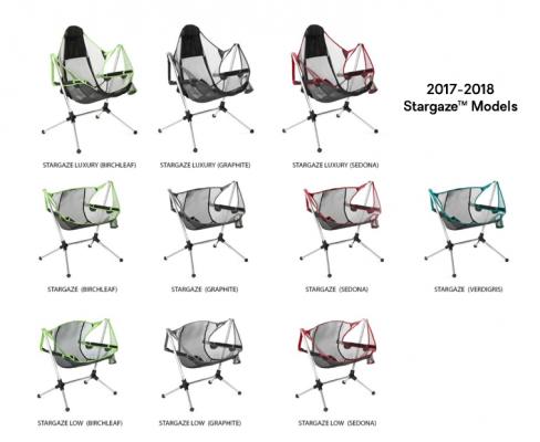 Recalled NEMO Equipment Stargaze recliner chairs