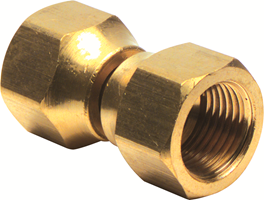 Recalled ProPlus Brass Flare Swivel Fitting (½ inch by ½ inch)
