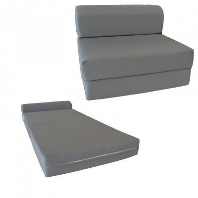 Recalled D&D Futon Furniture Sleeper Chair Folding Foam Bed in the mattress and sleeper chair configuration.