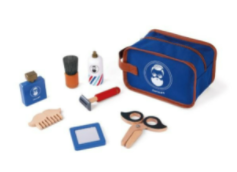 Recalled Janod Children's Shaving Kit with included components