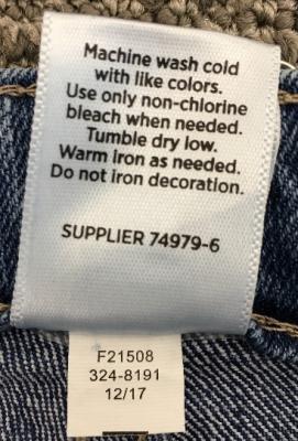 Okie Dokie shorts tracking label