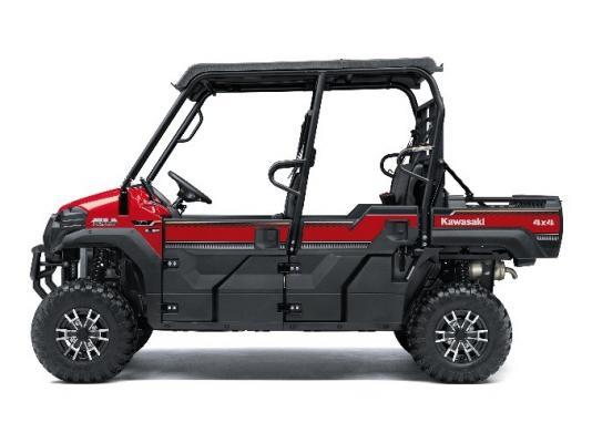 Recalled Kawasaki Mule Pro - red