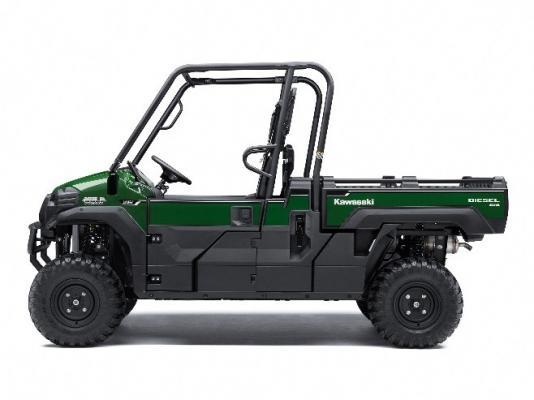 Recalled Kawasaki Mule Pro – green