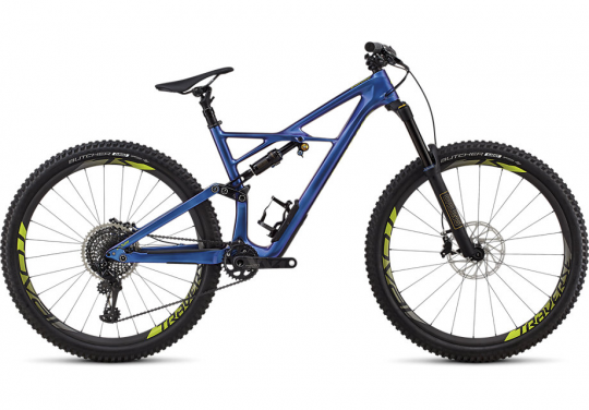 Specialized-branded Enduro mountain bicycle with recalled Ohlins fork