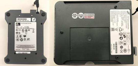 PSU specific to ZP Printers: The date code (D/C) is printed on the top surface of the PSU.