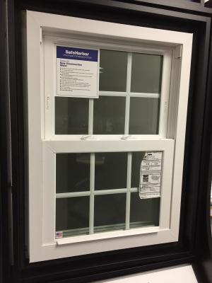 SafeHarbor Series 65 vinyl impact window