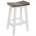 Recalled Hobby Lobby white wood stool