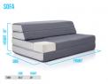 Recalled DownEast Mattress on the Go folding mattress – sofa setup