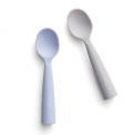 Recalled Miniware teething spoons in lavender and gray