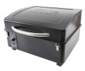 The recalled Traeger Scout portable grill with the lid closed.