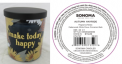 Recalled Kohl's Make Today Happy Candle