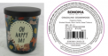 Recalled Kohl's Oh Happy Day Candle