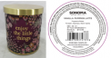 Recalled Kohl's Enjoy the Little Things candle
