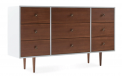 Recalled Joybird dresser in plywood with white painted exterior
