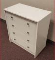Recalled Essential Home Belmont 2.0 4-drawer Chest - White