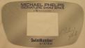 "A Master Spas control panel cover showing the brand name ""MP Signature Deep Swim Spas"""
