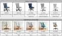 Recalled Pier 1 Emille collection desk chairs with model number and color